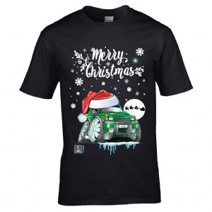 Premium Koolart Christmas Santa Hat Design & Discovery 1/2 TD4 TD5 car gift mens t-shirt top
